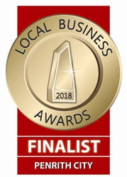 Local Business Awards Finalist 2018